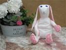 NIEUW .. Handwerk haas Made by Nellie, rose star