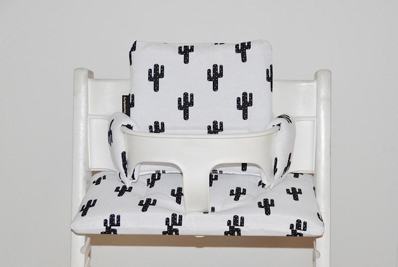 Cactus mintgroen kussens voor stokke tripp trapp stoel