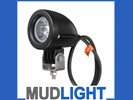 MUDLIGHT 10 watt CREE led breedstralers of verstralers.