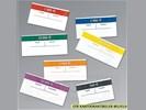 Banderollen, wikkels voor Euro bankbiljetten. Verpakken