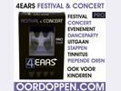 4EARS Festival PRO Oordopjes Concert Oordoppen