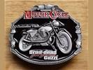 """Motor cylce buckle / gesp """" Dron-dearl Guzzi """""""