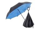 Heeft u ook zo'n hekel aan die onhandige en natte paraplu's?
