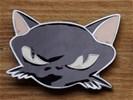 """Buckle / gesp """" Zwarte Kat """""""