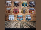 Route 66 - Vintage Metalen Wandborden