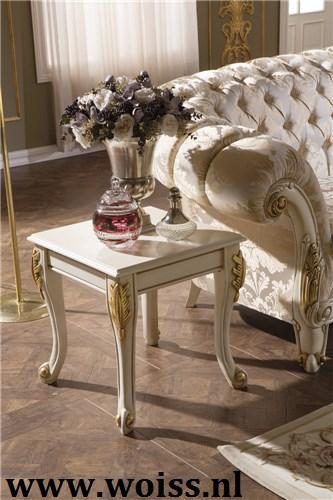Ongekend WOISS Engelse stijl klassieke barok chesterfield bankstellen VN-82