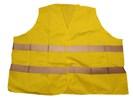 """Veiligheid vestje """" Grote maten """" oranje en geel"""