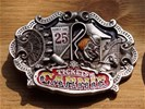 "Belt buckle "" Carnie Tickets "" Kermis"