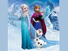 Fotobehang Disney Frozen XL