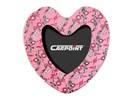 Fotolijstje 'Pink Flower' hart