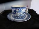 Soep kop en schotel Delfts Blond
