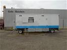 De Schans S8000 Schaftkeet met Generator (bj 2007)