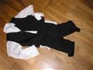 Feestkleding - bruidsjonker pakje , zwart, 3 delig