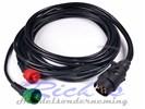 Kabelset 7 polig voor Radex achterlichten met connector