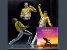 Freddie Mercury Queen - Live at wembley stadium S H Bandai