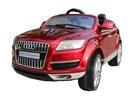 Audi Q7 Metallic rood 2.4GHz 12v FM radio