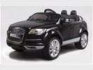 Audi Q7 zwart 2.4GHz 12v FM radio