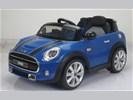Mini Cooper one 12v blauw