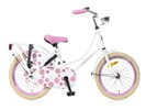 Omafiets 18 inch wit