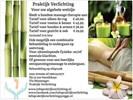 Bamboe massage voeten & onder benen