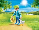 Playmobil Playmo-Friends 70030 Boerin met kip