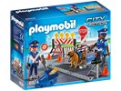 Playmobil City Action 6924 Politie wegversperring