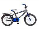 Mike 18 inch Jongensfiets blauw