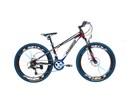 Kiyoko Mountainbike 26 inch 18 versnl. blauw