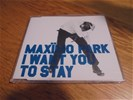 Maxïmo park - i want to stay ( 1 track promo cd )