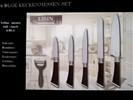 Teflon keukenmessen (set van 6)