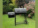 Oklahoma smoker 16 inch basic houtskool hout barbecue roker