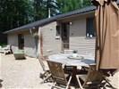 Chalet voor 9p. met sauna en jacuzzi (privé)