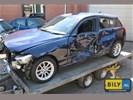 In onderdelen BMW F20 114d '14 BLAUW