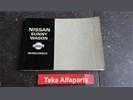 Nissan Sunny Wagon Instructieboekje Manual / 1993 Used