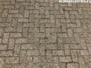 19225 ROOIKORTING 400m2 grijs betonklinkers straatstenen