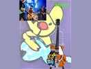 Miniatuur gitaar David Hollestelle Wild Romance Herman Brood