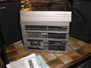 Stereo toren met platenspeler , erres - 2 boxen