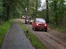Voorrijden en controleren SUV en 4x4 Herfstrit Veluwe.