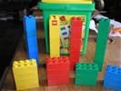 LEGO duplo IN OPBERGBAK - 50 onderdelen