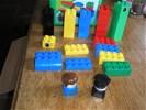 LEGO duplo IN OPBERGBAK - 34 onderdelen