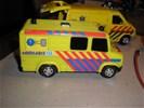 Auto's- ambulance, politie, brandweer