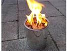 Blik vol vuur