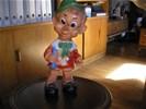 Gummie / rubber pop Pinokio, oud