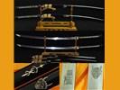 Samurai zwaarden (zwaard, sabel, mes, dolk, messen