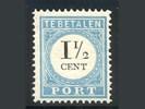 Nederland NVPH port 4 D T II postfris (scan D)