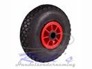 Bolderkarwiel, luchtband wiel 3.00-4 asgat 25 mm