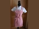 NIEUW !! Luxe, vintage look, handgemaakte schort.