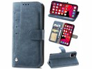 For iPhone 11 Pro MAX Matte Leather Rotary Card Case with