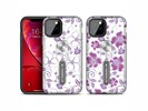 For iPhone 11 Purple Series UV light Color Changing