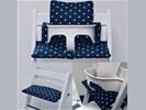 Gecoate stoelverkleiner kussens voor de stokke stoel